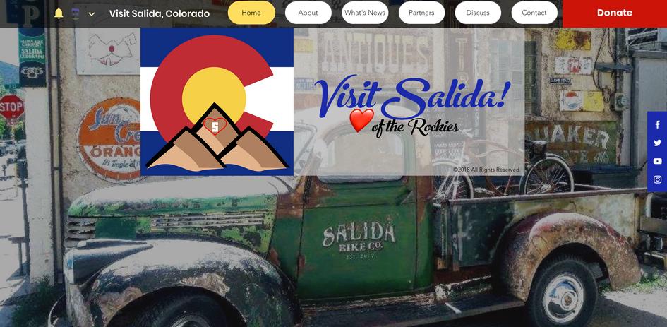 Visit Salida Website 1