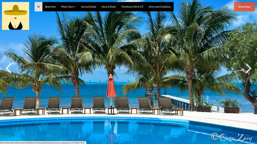 Caza Zoey Website 1