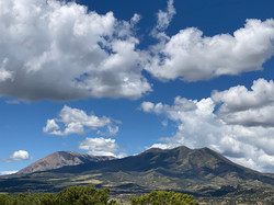 Storm clouds gathering over Silver Mountain