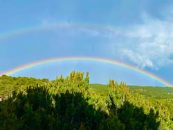 Double rainbow, double fun.