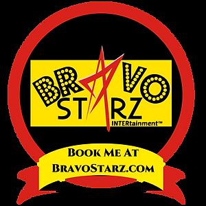 Book Me At Bravo Starz Badge 800x800 lg.