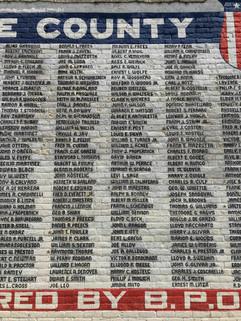 Salida Veterans Wall