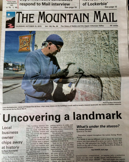 Mountain Mail Article