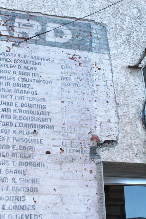 Salida Veterans Wall Restoration