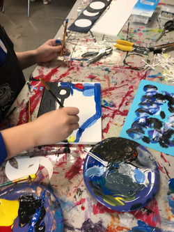 Art Classes are virtual every 2nd Saturday!!