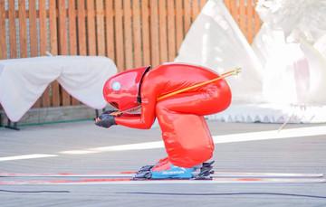 スピードスキーへの挑戦