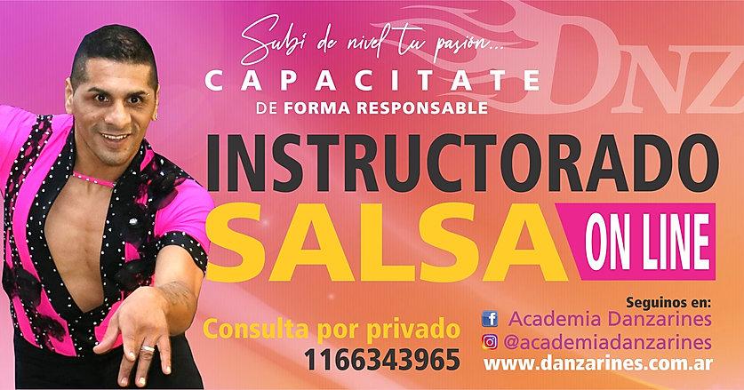 instructorado de salsa y hata on line