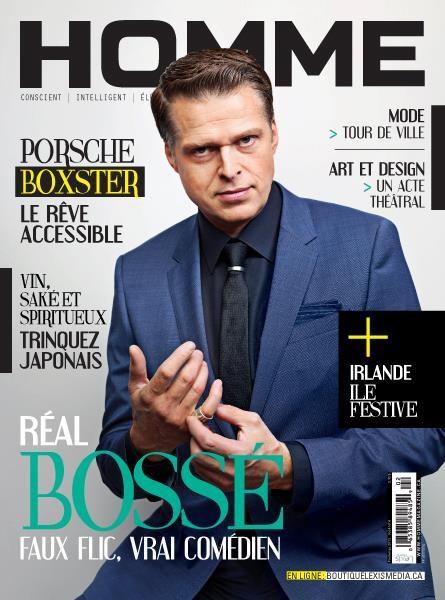 Réal Bossé @ Homme Magazine