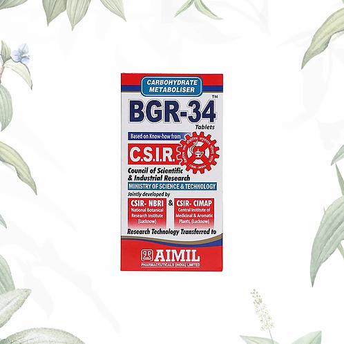 BGR-34 100 Tablet MRP