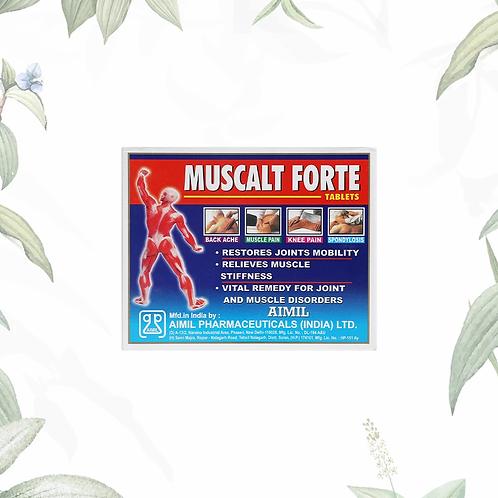Muscalt Forte Tablet 30'S MRP