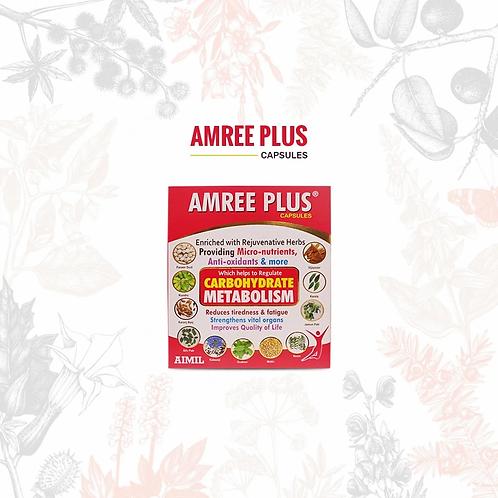 Amree Plus 20 Capsules MRP