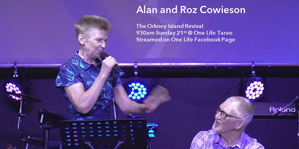 Allan and Roz Cowieson: Orkney Islands Revival