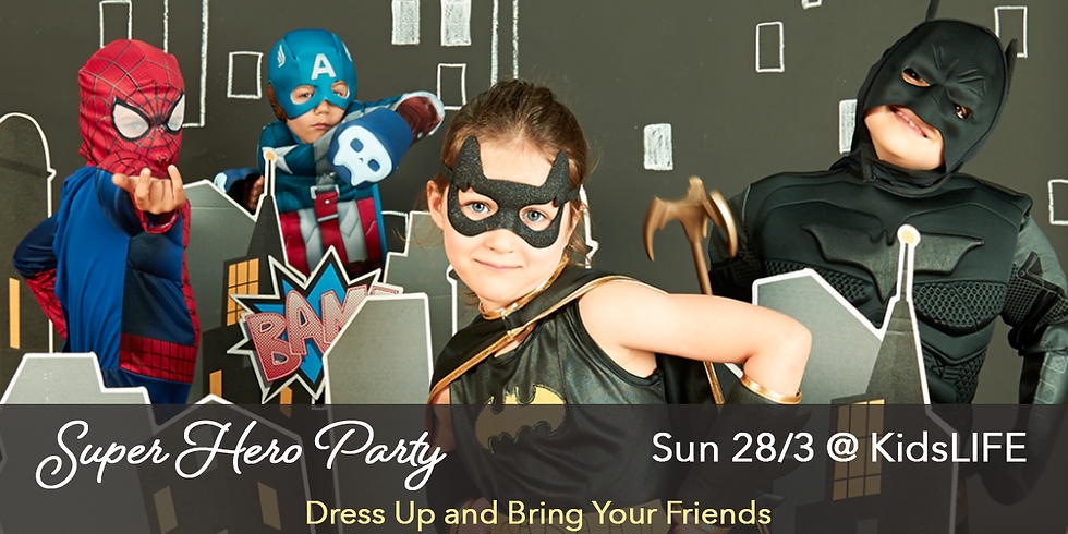 Kids Super Hero Party