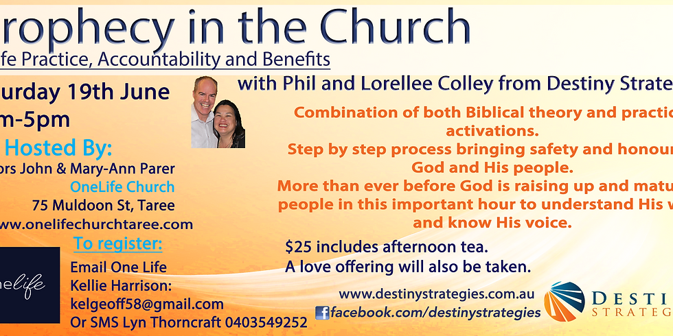 Prophecy in the Church Workshop