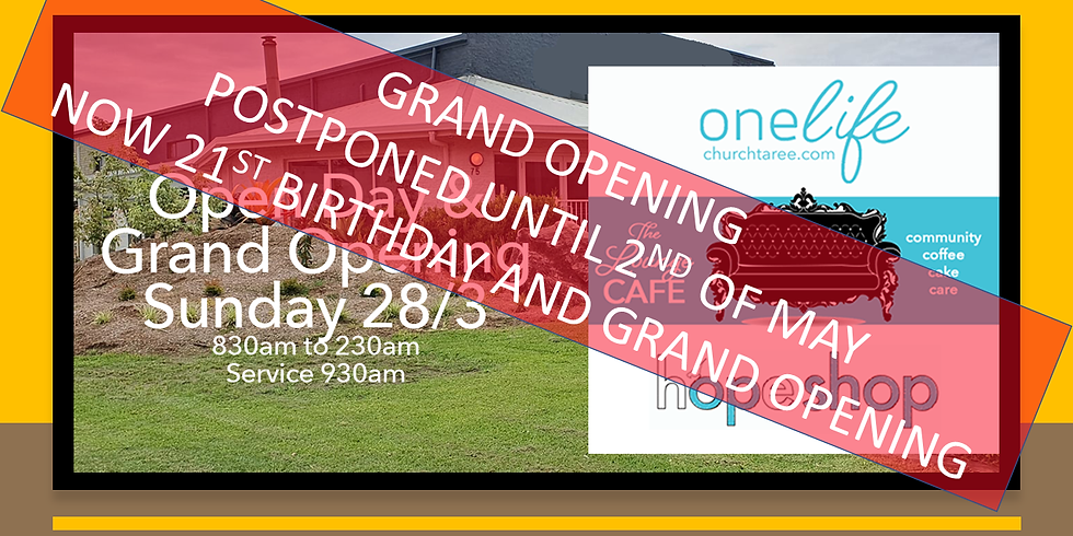 21st Birthday and Grand Opening