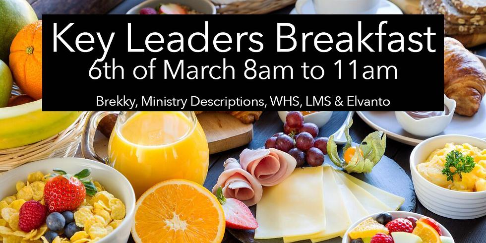 Key Leaders Breakfast