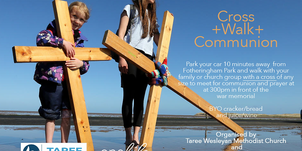 Good Friday Cross + Walk + Communion
