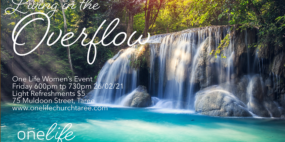 Living in the Overflow Women's Event