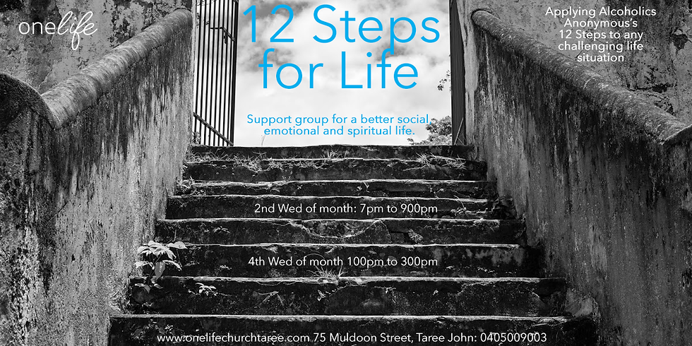12 Steps Life Launch
