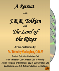 A Retreat with J.R.R. Tolkien and the Lord of the Rings (4 CDs)