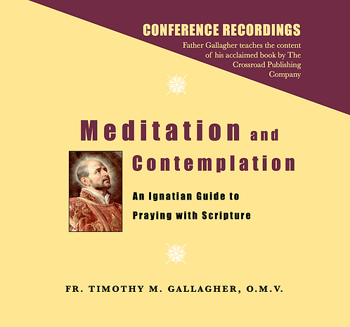 Meditation and Contemplation: An Ignatian Guide to Prayer with Scripture (4 CDs)
