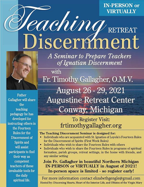 Teaching Discernment Flyer August 2021.j