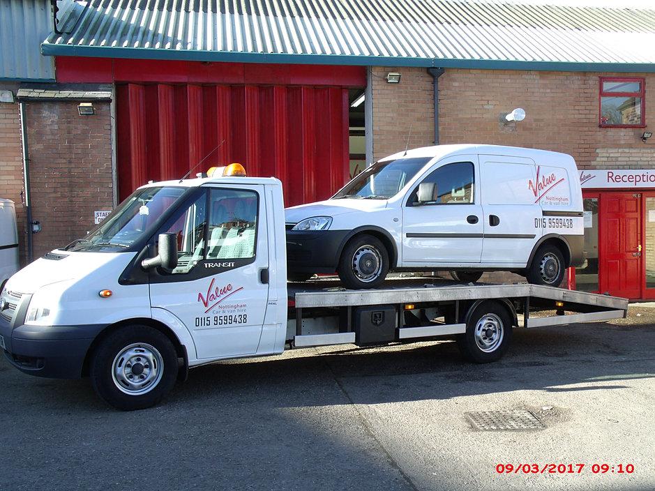 Value Van And Car Hire Nottingham