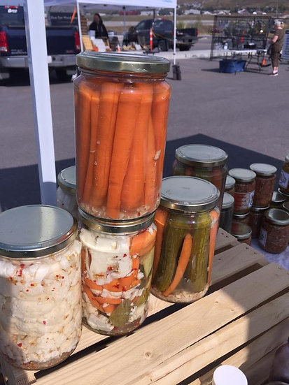 Assorted Vegetable Pickles