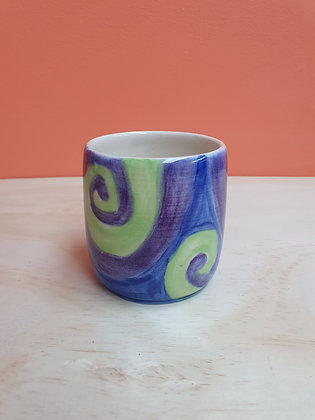 Cool Waters Swirl Cup