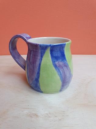 Cool Waters Leaf Mug