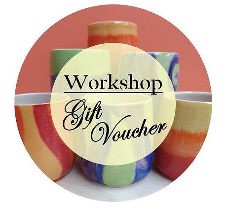 Pottery Workshop Gift Voucher
