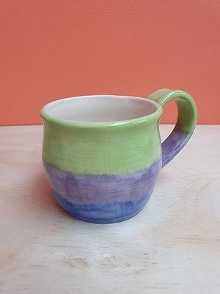 Cool Waters Stripe Mug
