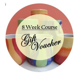 8 Week Pottery Course Gift Voucher