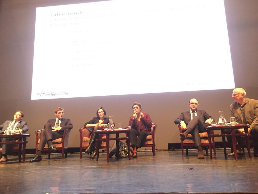 Mireille Alphonse à la conférence Grand Paris 2°C organisée par la Métropole du Grand Paris