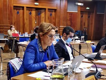 Anne-Marie rappelle l'exigence de transparence et de bonne gouvernance du Fonds de dotation