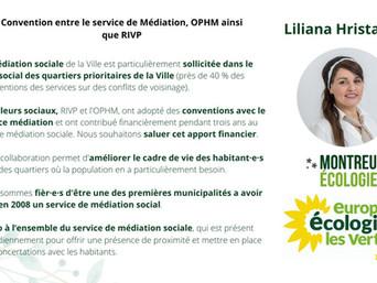 Une convention pour travailler au mieux vivre ensemble dans le parc social de Montreuil