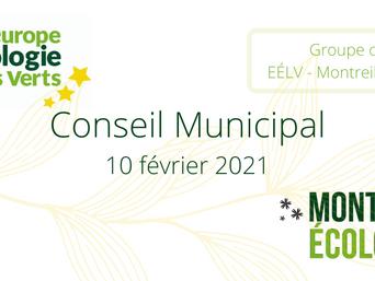 Campagne vaccinale et solidarités, Anne-Marie Heugas intervient au Conseil Municipal du 10/02/2021