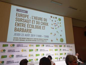 Journées d'été Europe Écologie les Verts 2019