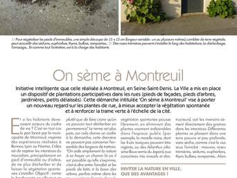 On sème à Montreuil : vive la végétalisation participative !