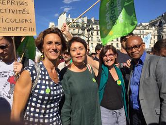 Montreuil Écologie à la marche pour le Climat !