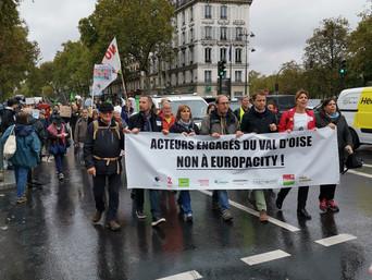 Abandon du projet EUROPACITY !