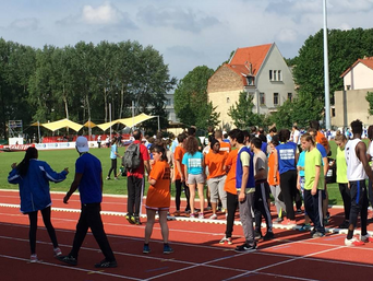 Meeting d'athlétisme, du sport de haut niveau dans les quartiers !