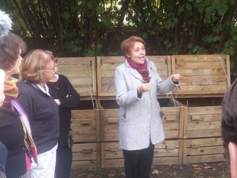 Un nouveau composteur de quartier Romain Rolland inauguré à Montreuil