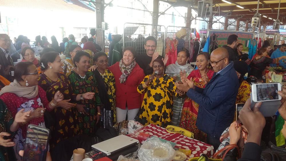 Avec les femmes Comoriennes