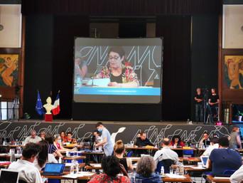 Conseil municipal : Présentation du rapport développement durable par Mireille Alphonse