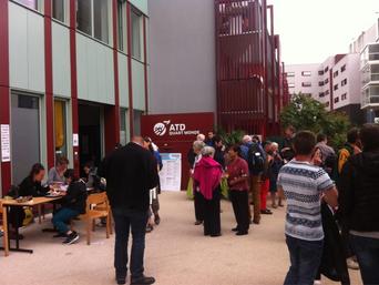 Inauguration du siège d'ATD-Quart monde à Montreuil