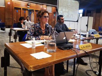 Conseil municipal: intervention d'Anne-Marie Heugas sur la coordination eau Île-de-France