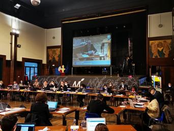 Au Conseil Municipal, Djamel Leghmizi intervient au débat liminaire