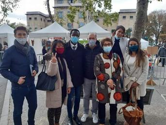 Vos élu.es et militant.es écologistes au forum des associations Montreuilloises