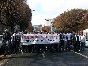 Marche blanche à Montreuil en mémoire du jeune Amor.